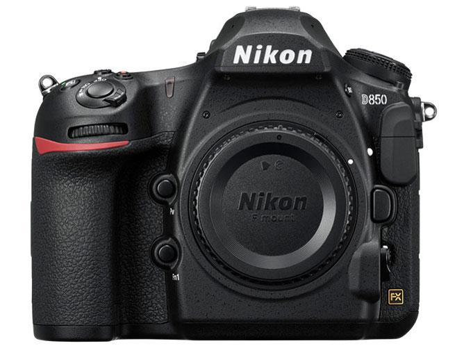 Nikon D850など計4点を